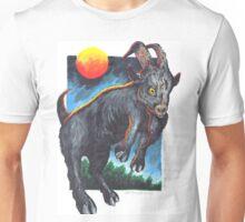 Jumping Harvest Goat Unisex T-Shirt