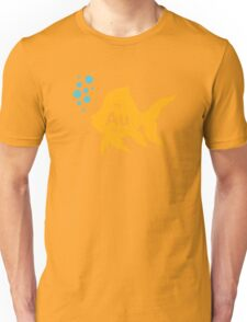 Periodic Table Elemental Gold Fish Unisex T-Shirt