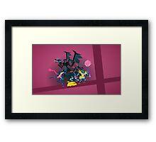 Pokemon Smashers Framed Print