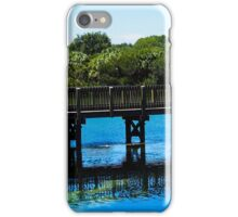 Bridge at Wall Springs Park iPhone Case/Skin