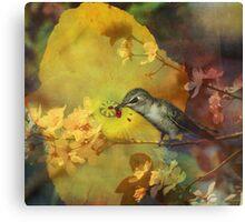 Vampire of the Flower World Canvas Print