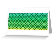 Reptile Skin Greeting Card