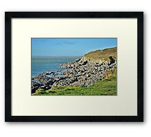 Mortehoe Framed Print