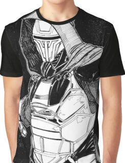 Darth Revan Bordered Graphic T-Shirt