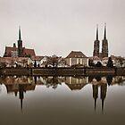 Wroclaw Reflecting by Maciej Nadstazik
