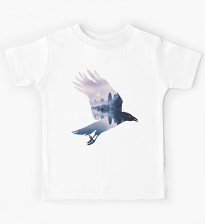 Crow Mystic River  Kids Tee