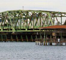 Surf City Swing Bridge Sticker