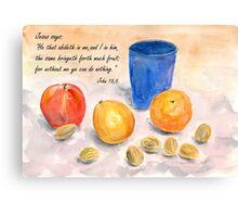 Much Fruit Canvas Print