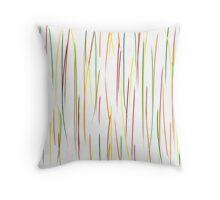Grass - snow Throw Pillow