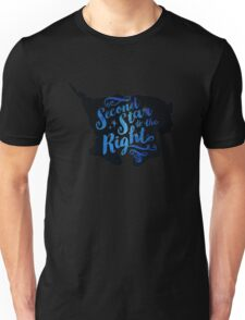 second star to the right peter pan Unisex T-Shirt