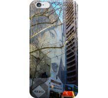 Street art at its finest in Collins Street, Melbourne iPhone Case/Skin