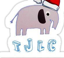 Christmas Johnlock Sticker