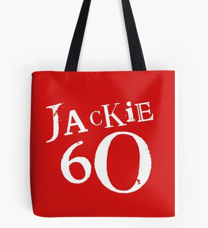 Red Holiday Editions Jackie 60 Logo  Tote Bag