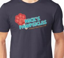 Nick's Pawpsicles Unisex T-Shirt