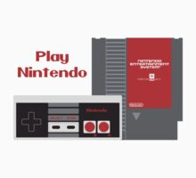 Play Nintendo (NES Edition) One Piece - Short Sleeve