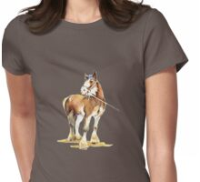 Clydesdale  Womens Fitted T-Shirt