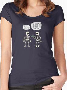 Is it gluten free? Women's Fitted Scoop T-Shirt