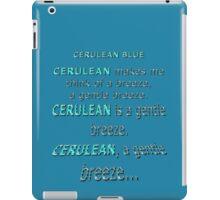 Cerulean Blue iPad Case/Skin