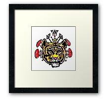 king kahn Framed Print