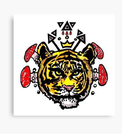 king kahn Canvas Print