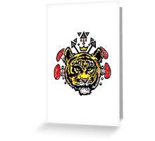 king kahn Greeting Card