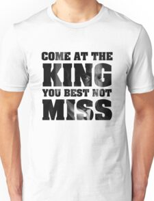 Omar Little - The Wire - Come at the king Unisex T-Shirt