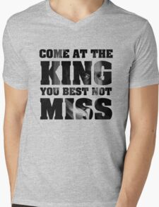Omar Little - The Wire - Come at the king Mens V-Neck T-Shirt