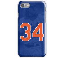 Noah Syndergaard - #34 New York Mets Phone Case iPhone Case/Skin