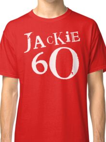 Red Holiday Editions Jackie 60 Logo  Classic T-Shirt