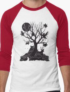 Autumn Forest Men's Baseball ¾ T-Shirt