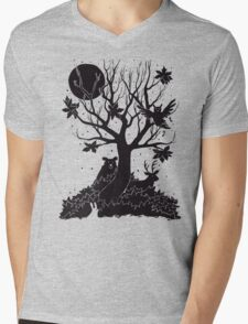 Autumn Forest Mens V-Neck T-Shirt