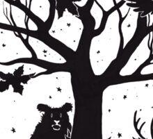 Autumn Forest Sticker