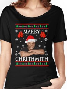 Merry Chrithmith Funny Christmas Women's Relaxed Fit T-Shirt