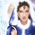 Angel of Snowflakes by TriciaDanby