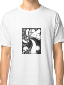 Whirl, Ink Drawing Classic T-Shirt