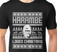 Harambe loved christmas Unisex T-Shirt