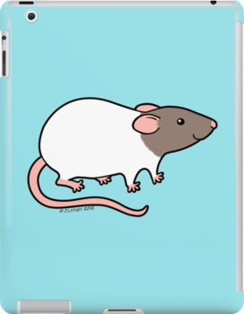 Friendly Hooded Rat by zoel