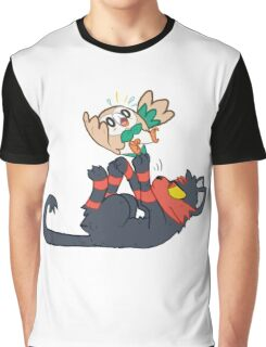 Litten and Rowlet! Graphic T-Shirt