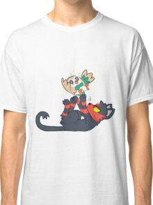Litten and Rowlet! Classic T-Shirt