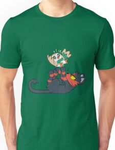 Litten and Rowlet! Unisex T-Shirt