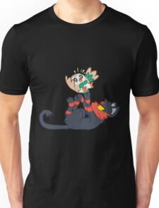 Litten and Rowlet! Unisex T-Shirt