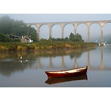 Calstock, Viaduct over the Tamar Photographic Print