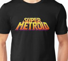 Space Metroid Title Screen Unisex T-Shirt