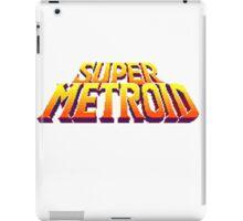Space Metroid Title Screen iPad Case/Skin