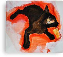 That Black Cat Canvas Print