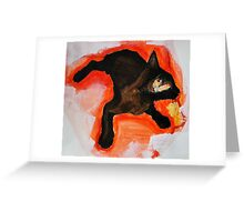 That Black Cat Greeting Card