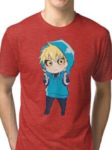 Genos - One Punch Man Tri-blend T-Shirt