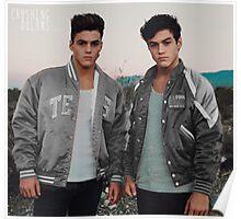 Dolan Twins grey Poster