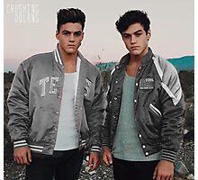 Dolan Twins grey Photographic Print
