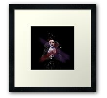 OUAT Evil Queen Framed Print